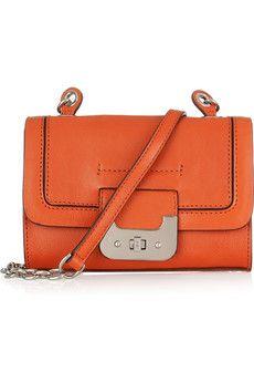 Diane von Furstenberg - Mini Harper leather shoulder bag
