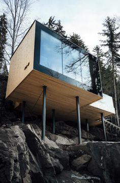 Sans doute mon boutique hotel préféré dans les Dolomites ! Là, c'est le sauna (avec vue !) Sud Tyrol, Italie