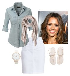 """cool breeze"" by seraiah99 ❤ liked on Polyvore featuring Alba Botanica, Barbour, LE3NO, Topshop, Havaianas and Faliero Sarti"