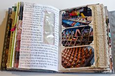 Journal Pages by Johwey Redington