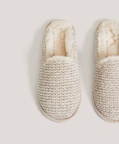 Pantoufles en tissu chenille - Chaussures - Pyjamas et homewear Pyjamas, Chenille, American, Martini, Beachwear, Espadrilles, Slippers, Footwear, The Unit