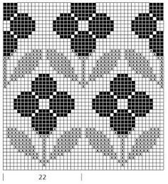 Mustrilaegas: A Kudumine / Knitting Tapestry Crochet Patterns, Crochet Beanie Pattern, Weaving Patterns, Crochet Chart, Quilt Patterns, Cross Stitch Borders, Cross Stitch Alphabet, Cross Stitch Patterns, Knitting Charts