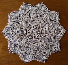 Doily #7 from the book of of Ultimate Doilies, Leisure Arts #3401, by Patricia Kristoffersen