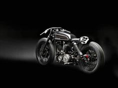 "Harley Sportster ""CLUB BLACK #2"" by Wrenchmonkees"