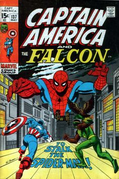 captain america comic book photos | Captain America #137 comic book from Marvel Comics Group