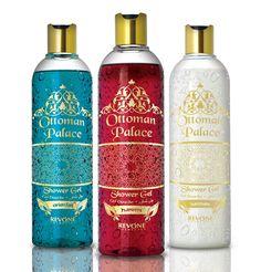 REVONE markamız için tasarladığım yeni Osmanlı serisi duş jeli ambalajları / REVONE Shower Gel Ottoman Series packages designed by Tanzer KANTIK #packaging #graphicdesign #package #Revone #Ottoman