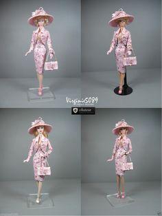 Tenue Outfit Accessoires Pour Fashion Royalty Barbie Silkstone Vintage 1422 | eBay