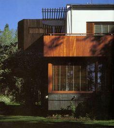 Alvar Aalto / Finnish architect / own home in Munkkiniemi / 1936