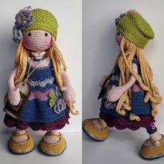 katxirula Col Crochet, Crochet Bear, Crochet Doll Pattern, Crochet Gifts, Crochet Toys, Knitting Dolls Free Patterns, Knitted Dolls Free, Christmas Knitting Patterns, Paper Flowers