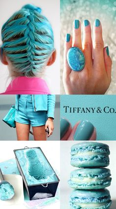 Tiffany blue My favorite color..