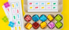 With a handful of LEGO® DUPLO® bricks and a few household objects, you can really help your toddler learn through play with these fun and simple memory games.