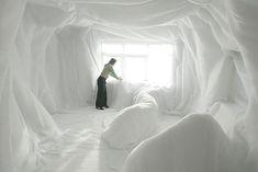 Textile art by Simone de Groot