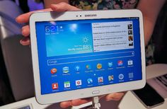 The Latest Samsung Phone Galaxy Tab S Hottest Galaxy Tab S, New Samsung Galaxy, Mostly Sunny, Samsung Tabs, Mobile Gadgets, Tech Toys, Thing 1, Ipad Mini 2, News Track