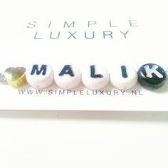 cute naamarmbandje by www.simpleluxury.nl #naamarmbandje #love #jewelry