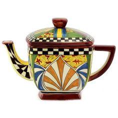 GAUDI: Square Tea Pot