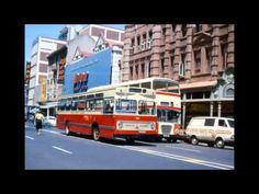 Church Street (very close to Church Square) - so many memories in this photo - the single and double-decker buses, Dions first store in Pretoria, Rave (photo by Stan Hughes) Lion Face Drawing, Double Decker Bus, Pretoria, Sweet Memories, Bristol, South Africa, Urban, Photo And Video, City