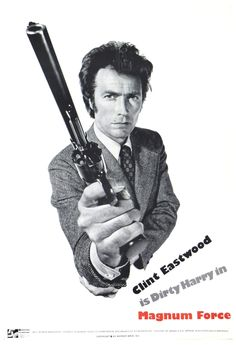"""Magnum Force 1973 ★★★★ Harry Callahan, who's already pissed off at """" the system"""" now has to deal with a band of vigilante cops who are even more pissed off at the same system. In this movie Harry is crossing lines with someone of his own kind, and we come to understand that he's much more than a gun toting maniac and knows where to draw his boundaries. In his own words, """"A man's got to know his limitations"""".."""