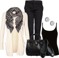 """No. 80 - A Cardigan for friday"" by hbhamburg ❤ liked on Polyvore"