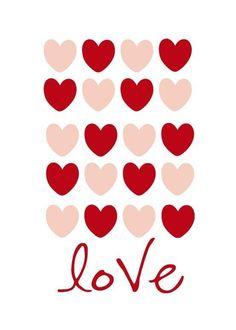 24 Amazing Valentine's Day Printables – Classy Clutter - Weihnachten Dekoration Valentine Day Love, Valentine Day Crafts, Funny Valentine, Valentine Decorations, Valentine Poster, Valentines Day Greetings, Image Deco, Valentine's Day Printables, Happy Hearts Day