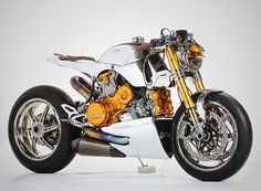Ducati 1199 Polished Panigale by Ortolani Customs