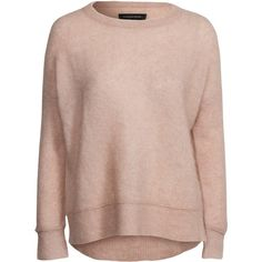 By Malene Birger Biago Pullover ($295) ❤ liked on Polyvore featuring tops, sweaters, jumpers & cardigans, salon, womens-fashion, pink sweater, ribbed sweater, pink pullover, thin sweaters and by malene birger