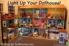 Light Up Your Dollhouse!