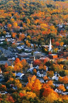 Aerial of Camden, Maine.One of my favorite places to visit. Best Places To Travel, Oh The Places You'll Go, Places To Visit, New England Fall, Maine New England, Autumn Scenery, Fall Pictures, New Hampshire, Travel Usa