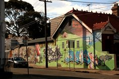 RemineArt, RITSUKO and others. Marrickville, Sydney.