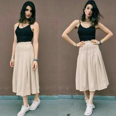 Mai kuch bol rahi hu uspe toh dhyan hai nai n bologe gym will never come in between areee baby Modest Outfits, Skirt Outfits, Dress Skirt, Midi Skirt, Cool Outfits, Summer Outfits, Casual Outfits, Look Fashion, Fashion Outfits