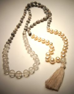 Skydancer Jewellery, Crown Chakra,108 Mala Yoga Necklace Prayer Beads £51