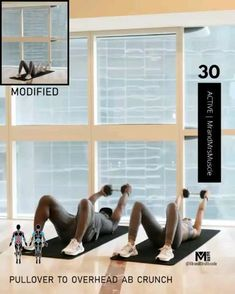Dumbbell Ab Workout, Full Body Hiit Workout, Hiit Workout At Home, Gym Workout Videos, Weight Loss Workout Plan, Easy Workouts, At Home Workouts, Cardio Workouts, Fitness Humor