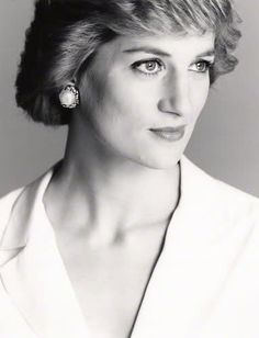 Diana Spencer, Princess of Wales (1961-1997) Photo by David Bailey, 1988
