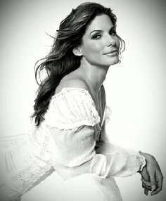 Sandra Bullock-I hope to someday be half the actress she is.