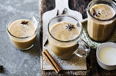 This hot toddy recipe takes fragrant chai flavour and adds vanilla and rum to create the ideal warming cocktail. Find Bonfire Night recipes at Tesco Real Food. Tea Recipes, Dairy Free Recipes, Baking Recipes, Recipe Links, Hot Toddy, Vegan Hot Chocolate, Hot Chocolate Recipes, Bonfire Night Food, Toddy Recipe