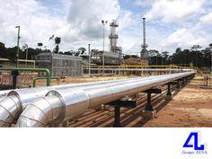 En Grupo ALSA, realizamos obras metal-mecánicas. LA MEJOR CONSTRUCTORA DE VERACRUZ. En nuestra constructora, realizamos obras metal-mecánicas para el sector petrolero principalmente, el cual requiere de este tipo de trabajo, para la extracción de hidrocarburos. Le invitamos a visitar nuestra página en internet www.grupoalsa.com.mx, para conocer más acerca de nuestros servicios. #AsfaltosyGravasAL