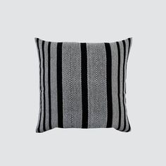 This handwoven, alpaca pillow is the perfect neutral for any modern bedroom or living space.