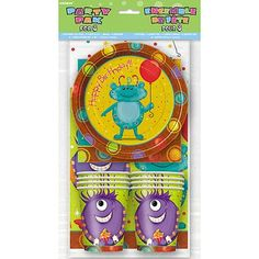 Party Monsters Party Pack for 8