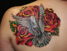 Traditional Tattooing By Brandon Notch (Sacred Saint)