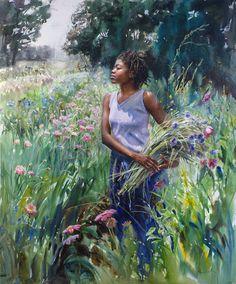 Cool Breeze von Mary Whyte