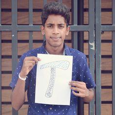 T For Thilanka 💙✌🏻️