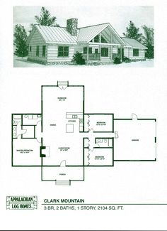 Fresh Log Cabin Home Designs and Floor Plans