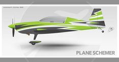 A sample scheme design for an Extra All designs are protected by copyright law. Engine Pistons, Float Plane, Copyright Law, Aircraft Painting, Paint Schemes, All Design, Smoke, Gallery, Gliders