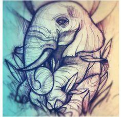 ... tattoo ideas | Pinterest | Elephant Tattoos Elephants and Tattoos and