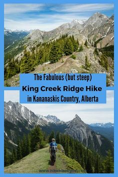 Die King Creek Ridge Wanderung im Kananaskis Land - Hike Bike Travel - Zelten Oh The Places You'll Go, Places To Travel, Travel Destinations, Travel Diys, Alberta Travel, Surfing Pictures, Visit Canada, Best Hikes, Day Hike