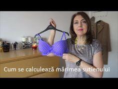 Cum se calculează mărimea sutienului - YouTube Bikinis, Swimwear, Bra, Youtube, Sports, Dresses, Fashion, Hs Sports, Vestidos