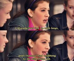 Angus, Thongs, and Perfect Snogging... I've actually seen that movie.