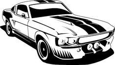 Ford Mustang II Vinyl Decal