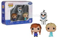 Code: 01823. Funko Frozen Pocket Pop! Mini Vinyl Figure Tin (3-Pack). Do you wanna collect a snowman? From Funko and Disney's Frozen, the Frozen Pocket Pop! Mini Vinyl Figure 3-Pack Tin is perfect for collectors young and old! Featuring the same Pop! vinyl design you love now miniaturized, your favorite characters are now 1 1/2-inches tall. - To order: http://www.shopaholic.com.ph/#!/Funko-Frozen-Pocket-Pop-Mini-Vinyl-Figure-Tin-3-Pack/p/52077349/category=6708179