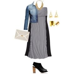 plus size casual chic, created by kristie-payne on Polyvore