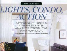 Canadian House and Home - February 2013 | Sarah Richardson Design